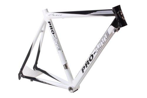 Pro-Lite Road Bike Cuneo Frame 56.5cm Two-Tone Custom Painting White & Black