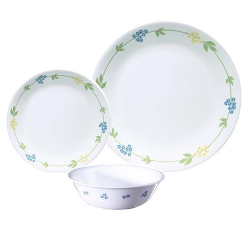 corelle-18-piece-vitrelle-glass-secret-garden-chip-and-break-resistant-dinner-set-service-for-6-blue