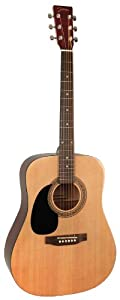 Johnson JG-624-N 620 Player Series Acoustic Guitar, Left-Handed