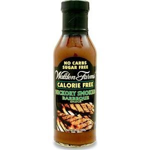 Walden Farms Inc BBQ Sauce, Hckry Smk, C/Fr, 12-Ounce (Pack Of 2)