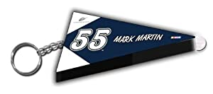 Mark Martin NASCAR Pennant Led Key Chain by R R Imports