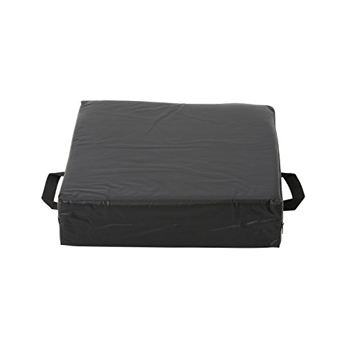 duro med deluxe wheelchair cushion car seat cushion seat riser cushion lift cushion black. Black Bedroom Furniture Sets. Home Design Ideas