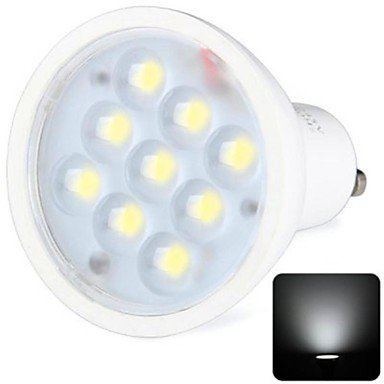 Rayshop - Gu10 3W 9X2936Smd 270Lm 6000-6500K Cool White Light Led Spot Bulb (100-240V)