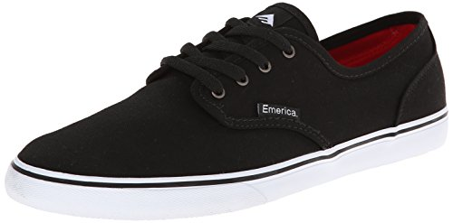 Emerica Men's Wino Cruiser Skateboard Shoe, Black/White, 11 M US