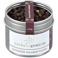 Schwarzer Malabar Pfeffer, 60g von Zauber der Gewürze GmbH auf Gewürze Shop