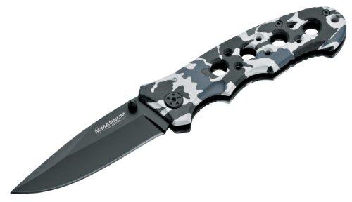 Magnum Winter Camo Knife