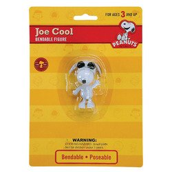 Peanuts Joe Cool Snoopy Bendable Figure