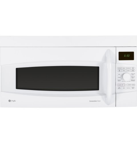 Convert Countertop Microwave To Over Range : Profile 1.7 cu. ft. Capacity Over-the-Range Convection Microwave Easy ...