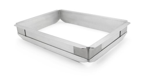 New Star 42597 Aluminum Sheet Bun Pan Extender, Quarter Size (Sheet Pan Extender compare prices)