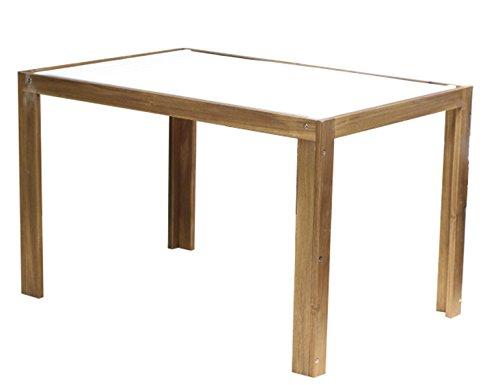 Siena Mybalconia 999098 Modular Tisch, 120x80cm Gestell Akazie FSC® 100% geölt Flächen Akazie FSC® 100% weiß lackiert Beschläge aus galvanisiertem Stahl jetzt bestellen