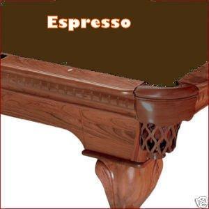 Simonis Espresso Billiard Cloth- 9 Foot Cut