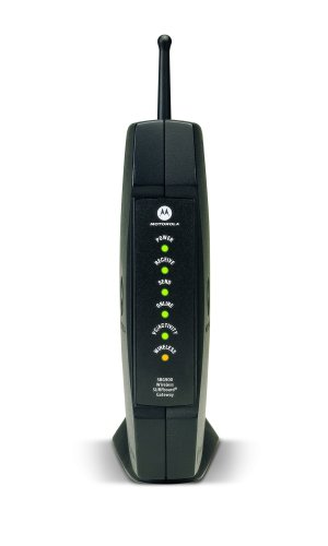Motorola SURFboard SBG900 DOCSIS 2.0 Wireless Cable Modem Gateway (Black)