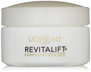 L'Oreal Paris RevitaLift Anti-Wrinkle + Firming Day Cream SPF 18, 1.7 Fluid Ounce