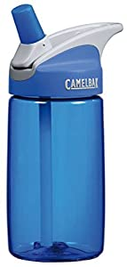 CamelBak 0.4-Liter Kids Bottle, Blue/Blue