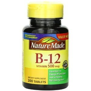 Nature Made Vitamin B12 500 Micrograms