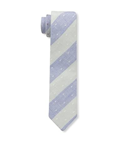Cotton Treats Men's Robin Large Stripes Tie (Reversible)