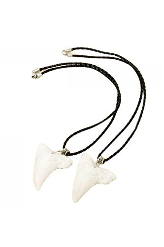 vococalr-shark-tooth-shaped-cattle-bone-fashion-necklaces-pair