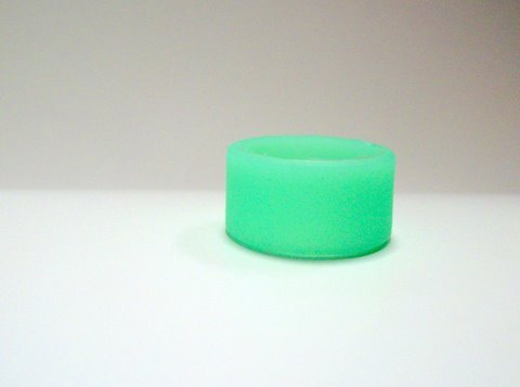 Glow in the dark silicone ring Unisex ring