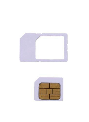 AU iPhone4s専用micro simカード  アクティベーション〓アクティベートカードactivation