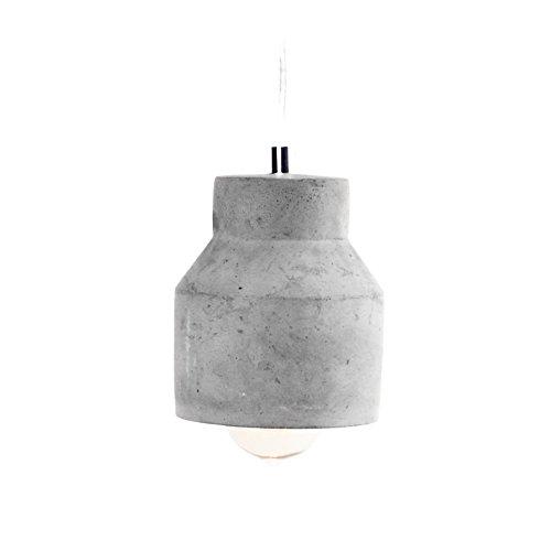 plafoniera droites Teseo cemento lampadario da soffitto industriale scandinavo Design Vintage Workshop