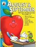 img - for August & September: Full-Color Monthly Activities for Grades 1-3 book / textbook / text book