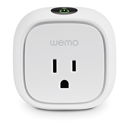 WeMo Insight Switch Smart Plug, Wi-Fi, Energy Monitoring, Works with Amazon Alexa (Wemo Led Lighting Starter Set compare prices)