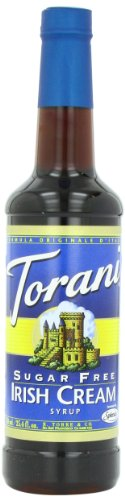 Torani Sugar Free Syrup, Irish Cream, 25.4 Ounce (Pack of 4)