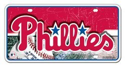 Philadelphia Phillies Car Truck SUV License Plate Tag at Amazon.com