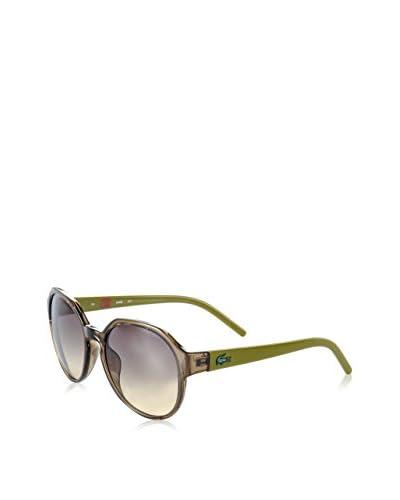 LACOSTE Gafas de Sol L642S Marrón / Verde