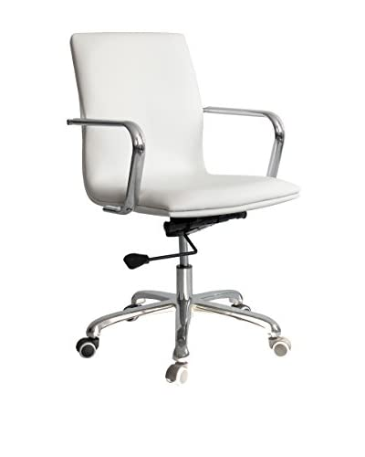MaxMod Confreto Conference Office Chair Mid Back, White