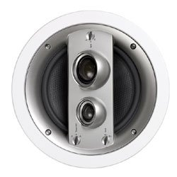 Jamo 80W 3-Way In-Ceiling Speaker, White Paintable