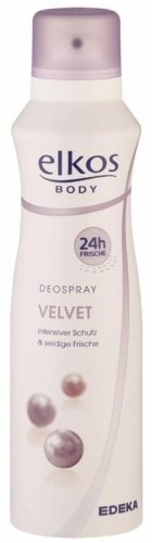 EDEKA elkos Deospray Velvet 200ml