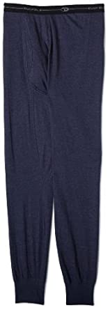 Duofold Thermals - Mens Ankle Length Bottom, 2XL-Navy