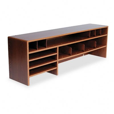 SAF3651MO Wood High Capacity Double Shelf Desktop
