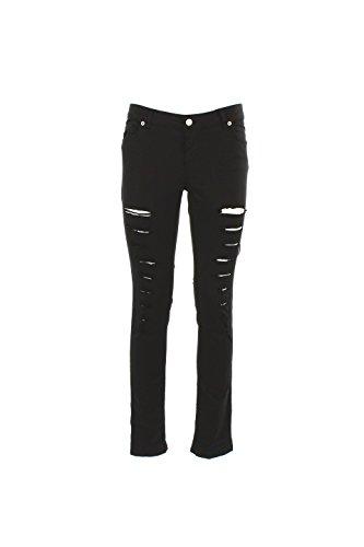 Jeans Donna Kontatto S Nero Tt308 Primavera Estate 2016