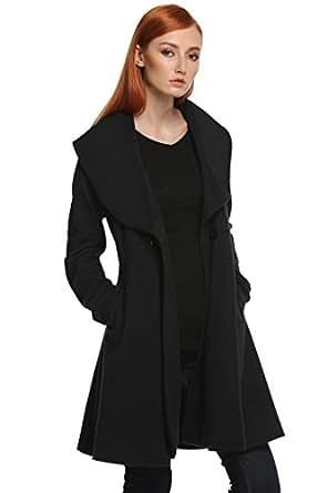 Etuoji Women 1950s Princess Coat Princess Jacket Coat for
