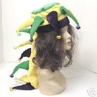 Jacobson Hat Company Men's Mardi Gras Light-Up Dragon Hat, Multi, One Size