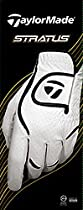 TaylorMade Stratus Cadet Glove (Left Hand, White/Black, Small)