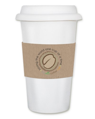 Smart Planet EC-7 Eco 12-Ounce Double Wall Thermal Coffee Cup