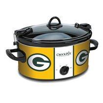 Official NFL Crock-pot Cook & Carry 6 Quart Slow Cooker - Green Bay Packers (Green Bay Packer Crock Pot compare prices)