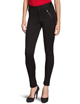 VERO MODA Damen Hose, 10082230 SOHO PANT, Gr. 42 (XL), Schwarz (BLACK)