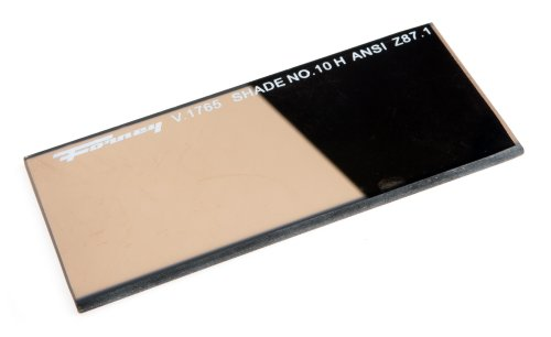 Forney 57061 Lens Replacement Gold Welding Filter, 2-Inch-by-4-1/4-Inch, Shade-10