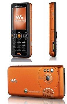 Purchase Sony Ericsson W610i in Black/Orange GSM Unlocked ...