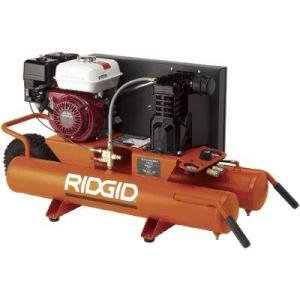 Factory Reconditioned-RIDGID 9-Gallon Portable Gas-Powered Air Compressor-GP90150RB