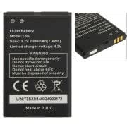 T3S 2000mAh Rechargeable Li-ion Battery for iMAN i3 Mobile Phone (S-MPH-5028 series)