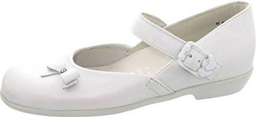 Helgas Modewelt, Sneaker bambine, bianco (weiß (perlato weiss)), mittel 31