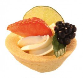 Pidy Round All Butter Sweet Mini Pastry Cups (Pack of 480)