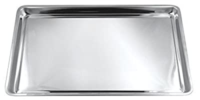 Fox Run Stainless Steel Jelly Roll/Cookie Pan 10 Inch x 15 Inch x .75 inch.