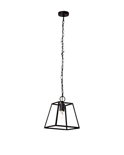 Light&Co. Lámpara De Suspensión Amata Negro