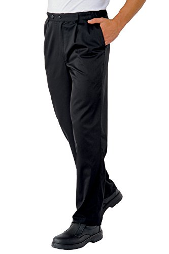 Novaplus - Pantaloni da chef Nero  nero
